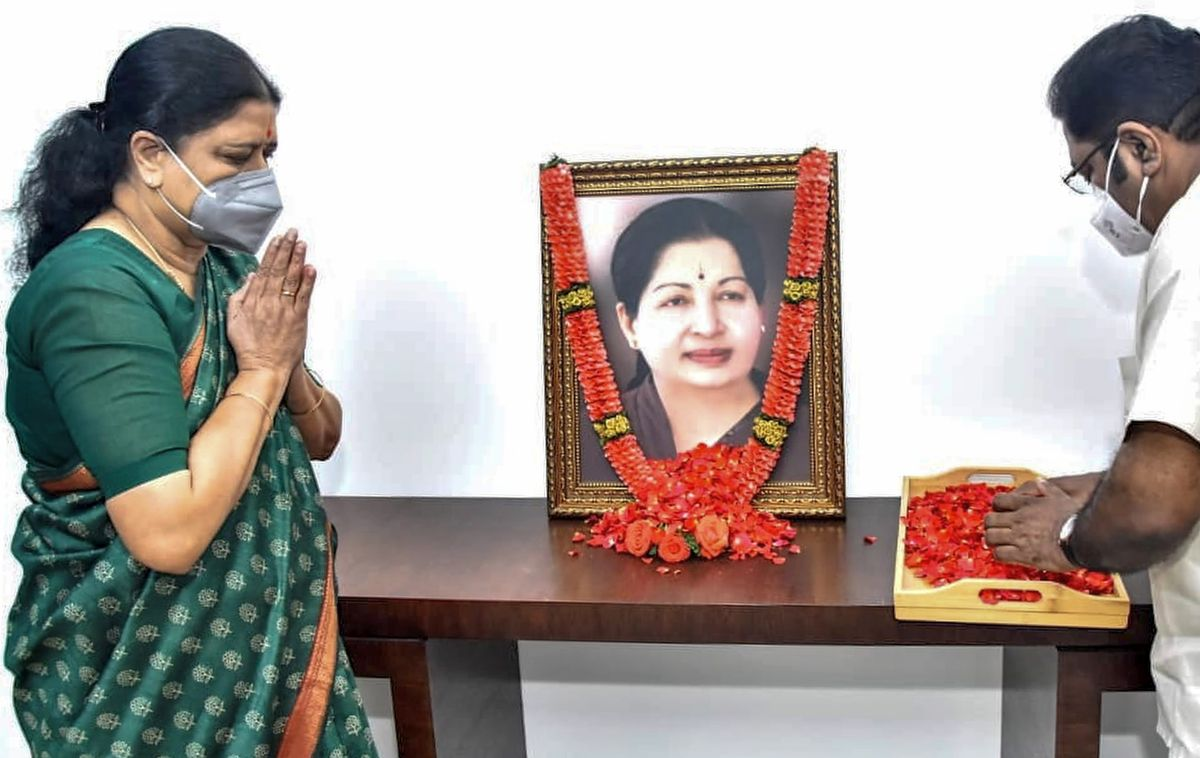 BJP, AIADMK not on same page over Sasikala?