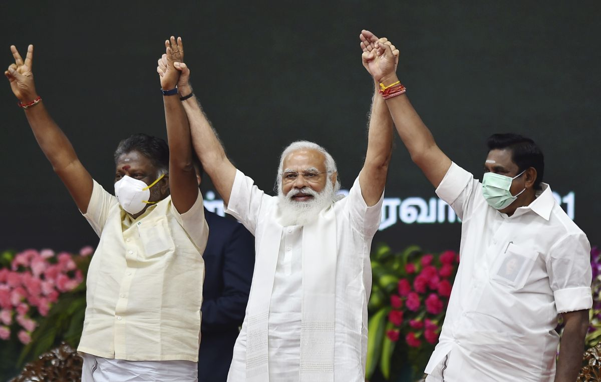 In Chennai, Modi forges ahead with Tamil culture pitch