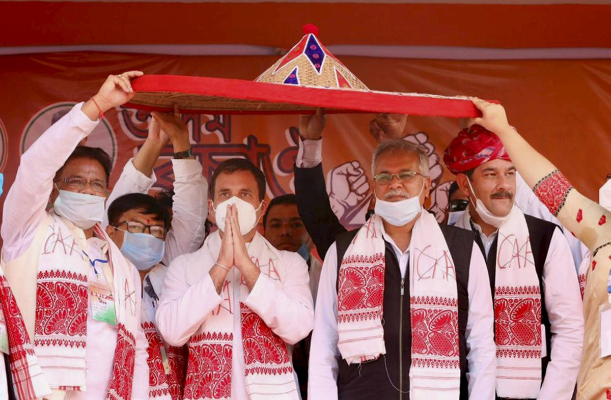 Congress's chances in Assam hinge on alliance partners