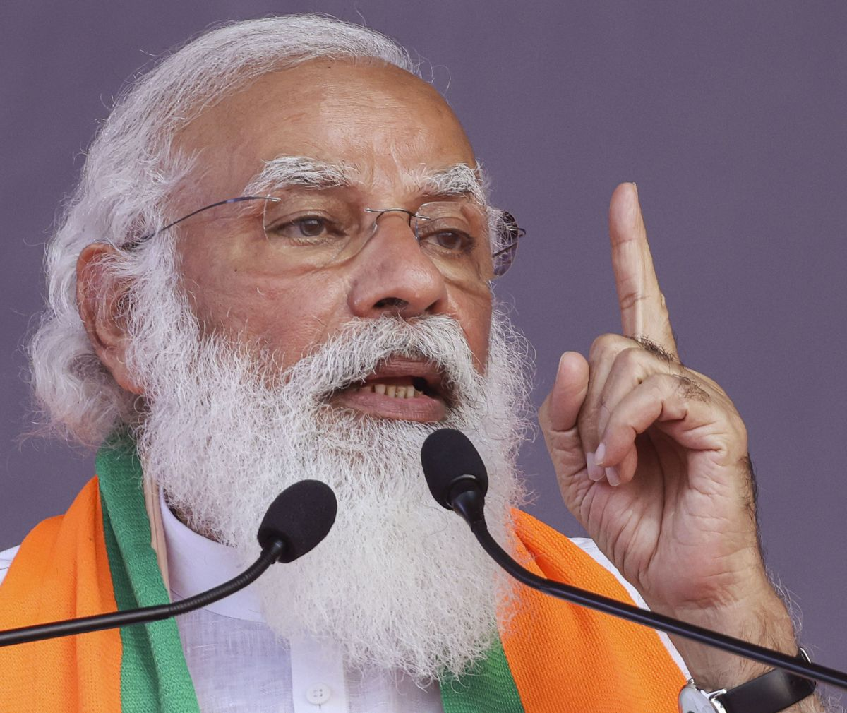 Modi regrets not learning 'world's oldest language' Tamil