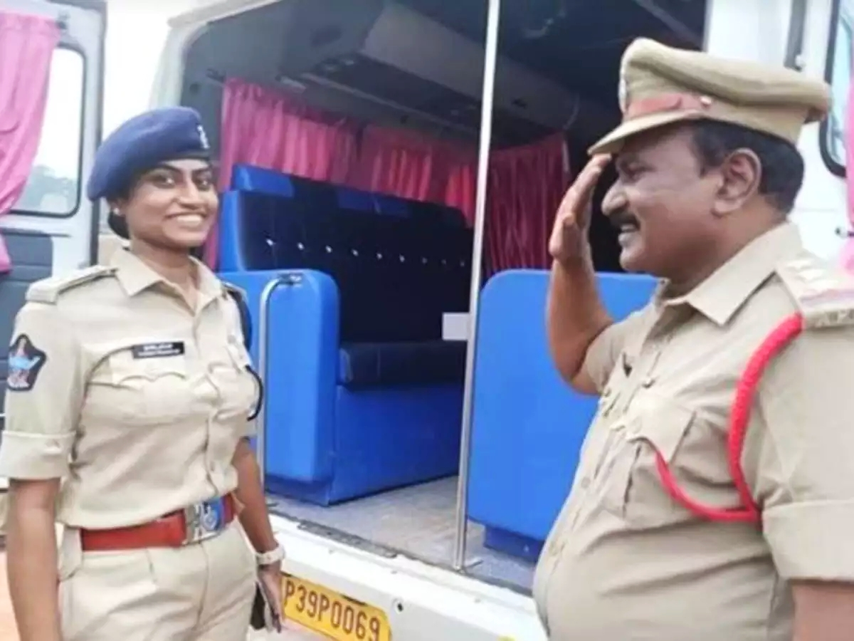 Why a police officer saluted his daughter