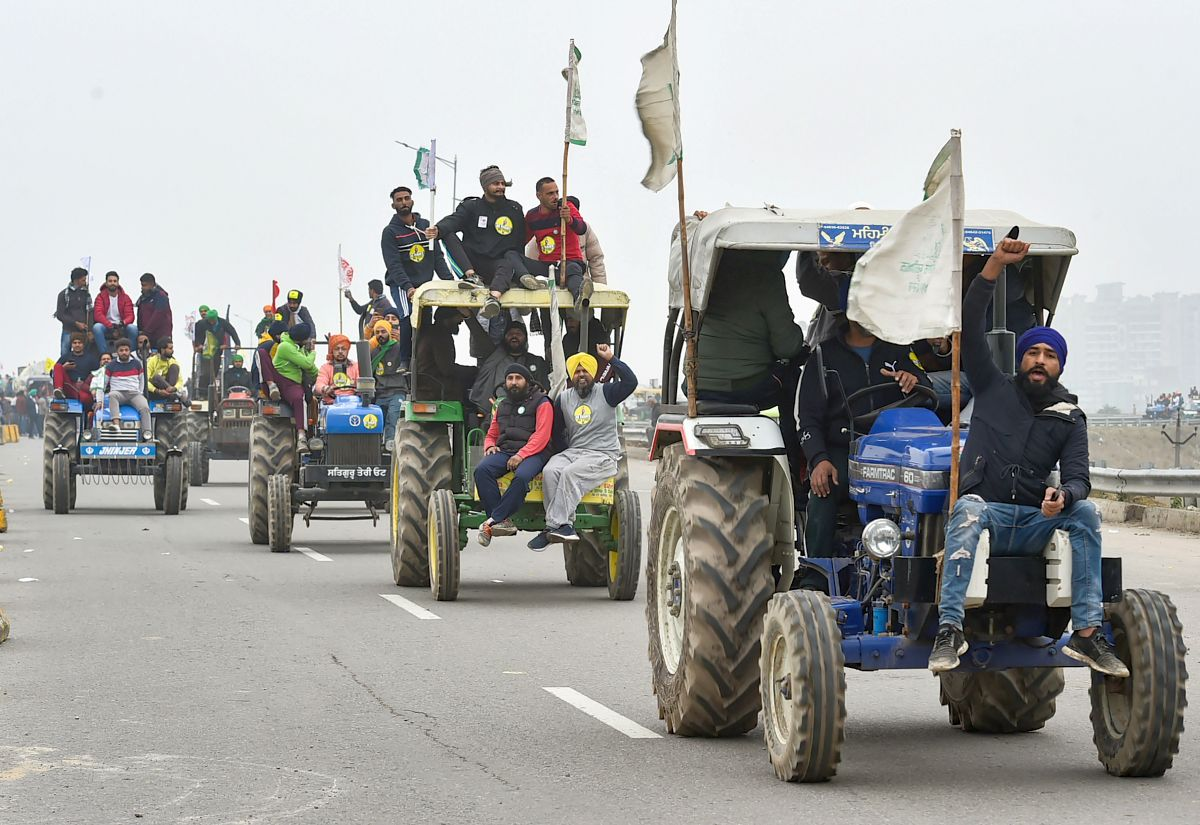 Farmers-cops meet on R-Day tractor rally inconclusive