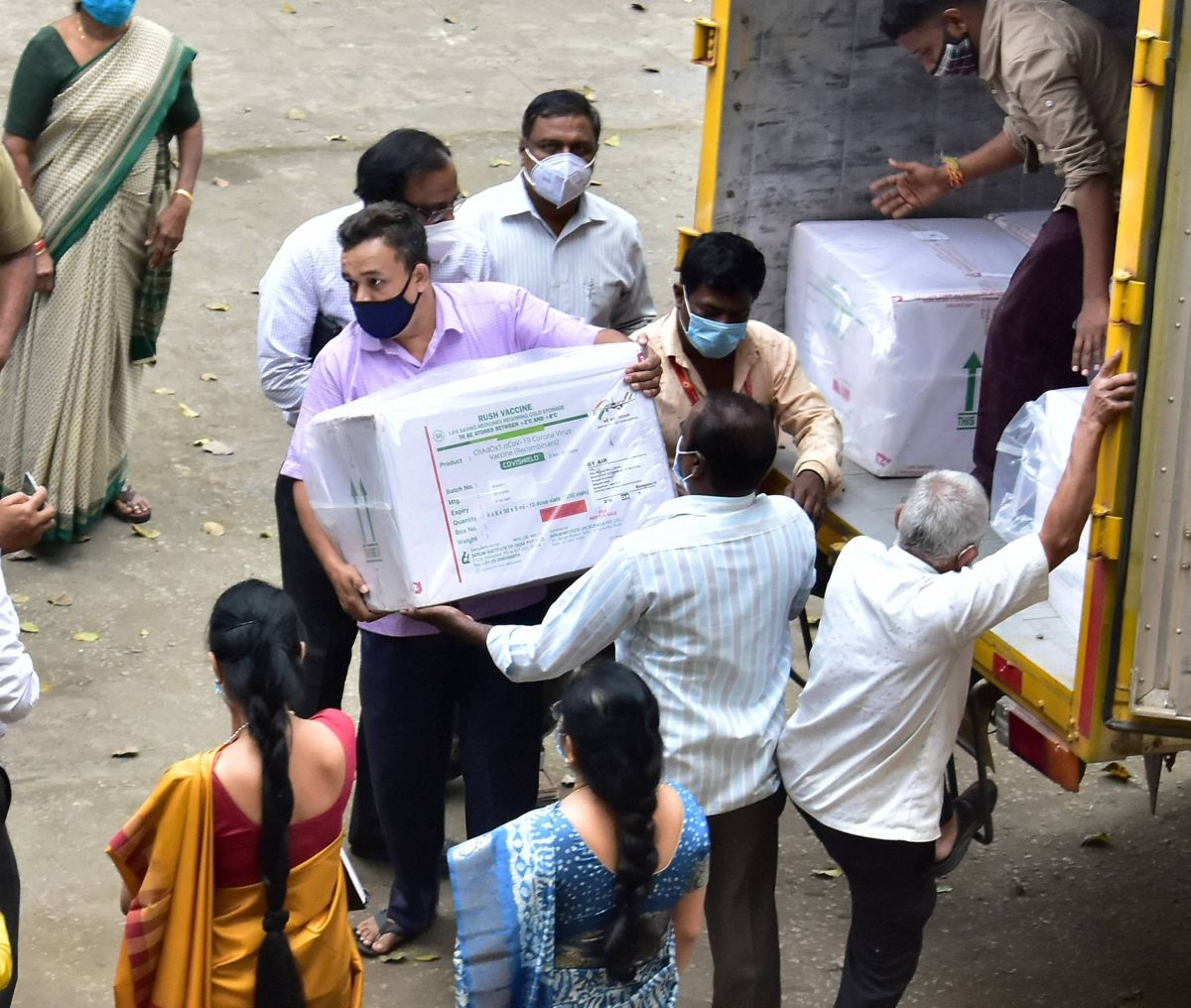 Indians may not get to choose which vaccine to get