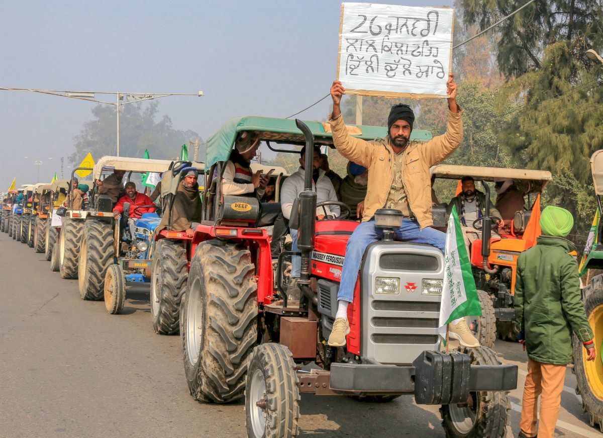 Farmer unions gear up for R-Day tractor parade