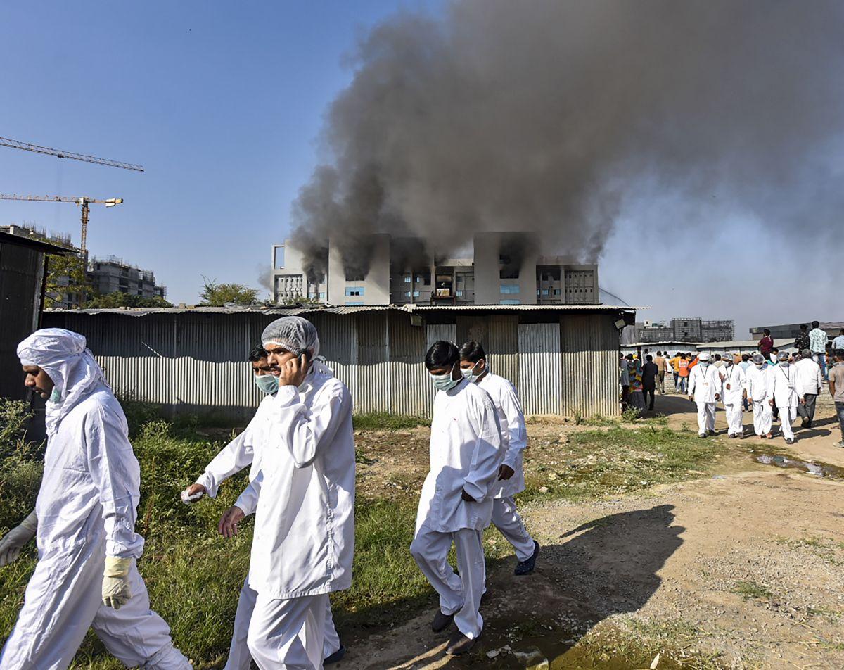 Serum Institute fire: Maha CM says probe in blaze on