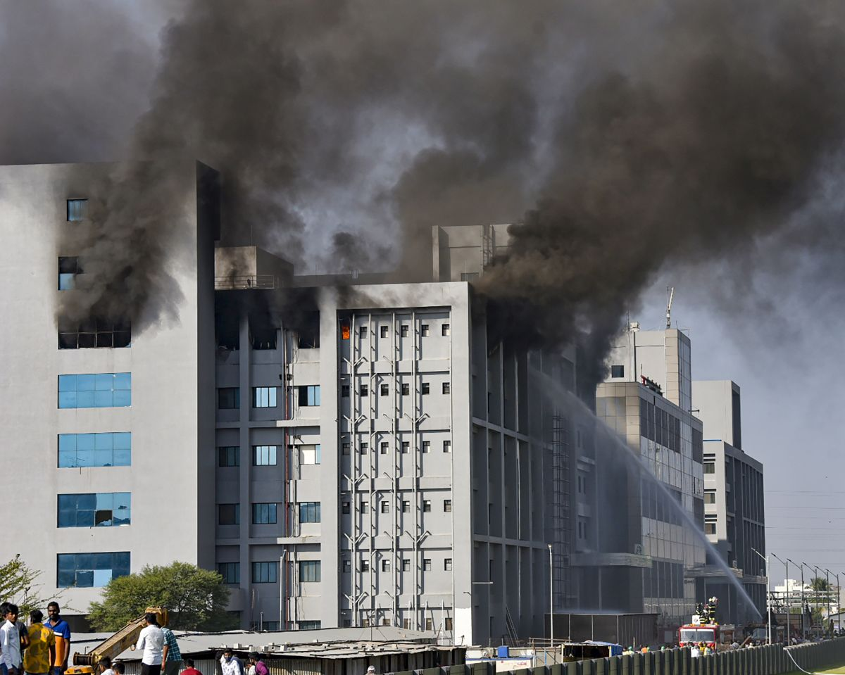 Fire at Serum Institute an 'accident': Sharad Pawar