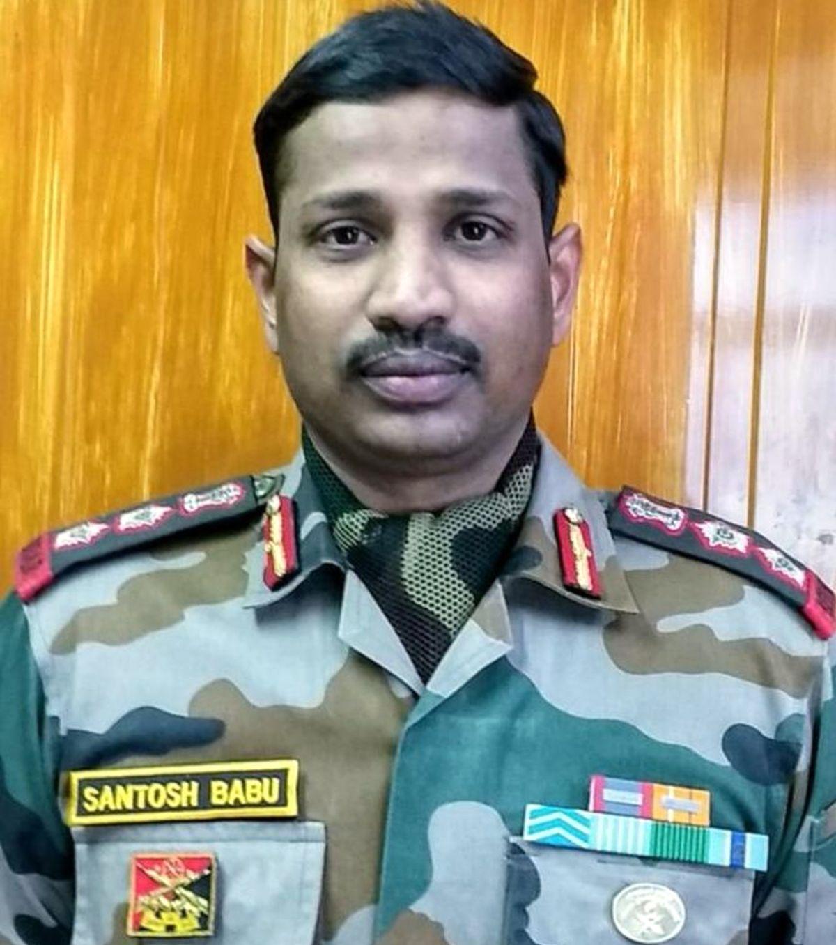 Col Santosh Babu, hero of Galwan, gets Maha Vir Chakra