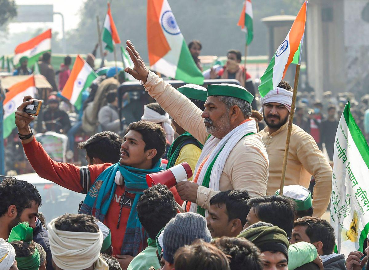 BJP ally calls Rakesh Tikait 'true patriot'