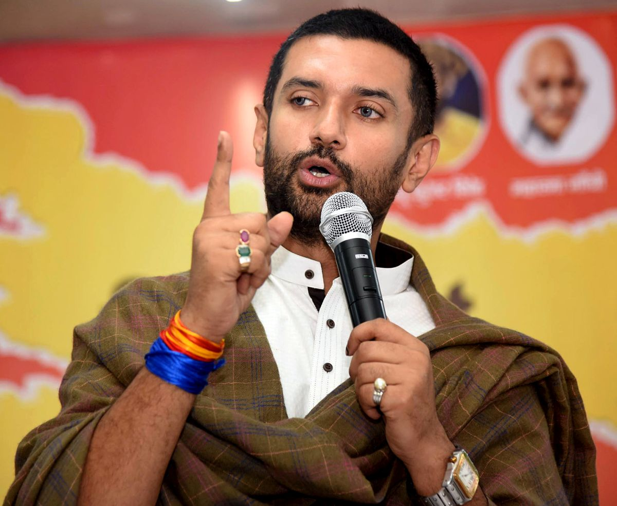 Chirag Paswan removed as LJP chief a day after coup