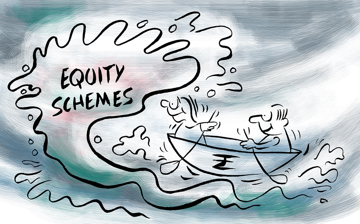 Inflows into equity MFs decline to by% in June