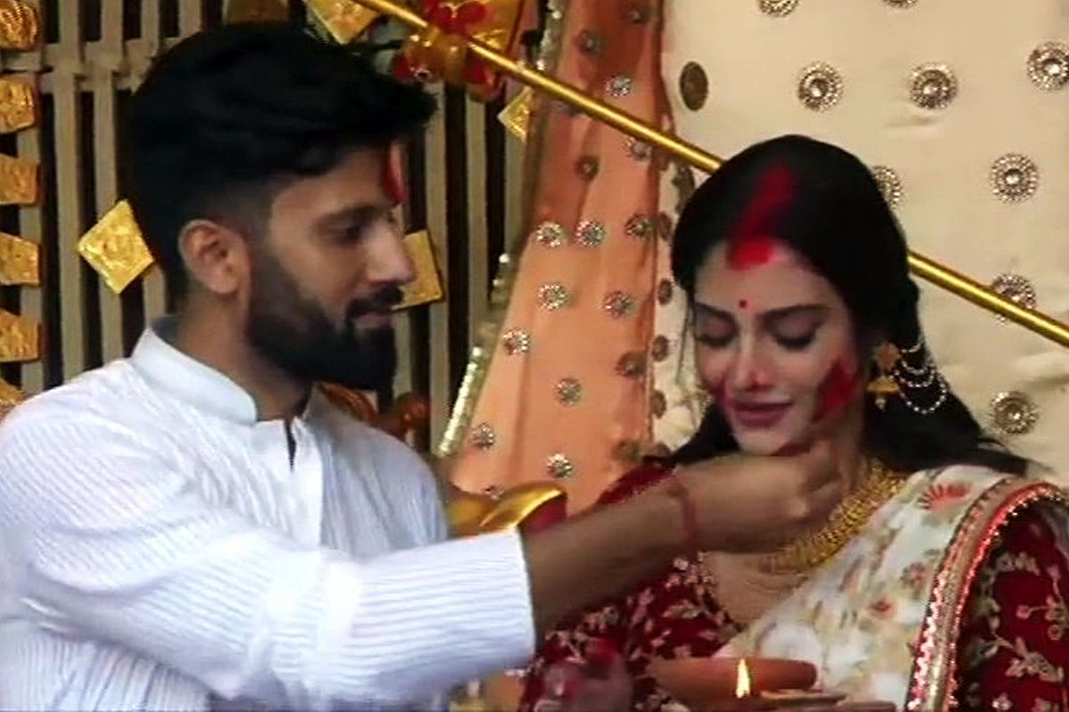 My marriage was not legal in India: TMC's Nusrat Jahan - Rediff.com India  News