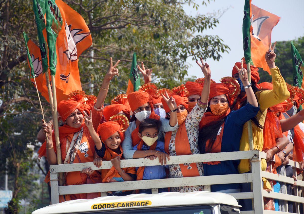 BJP wins big in UP local body polls, blow to Akhilesh