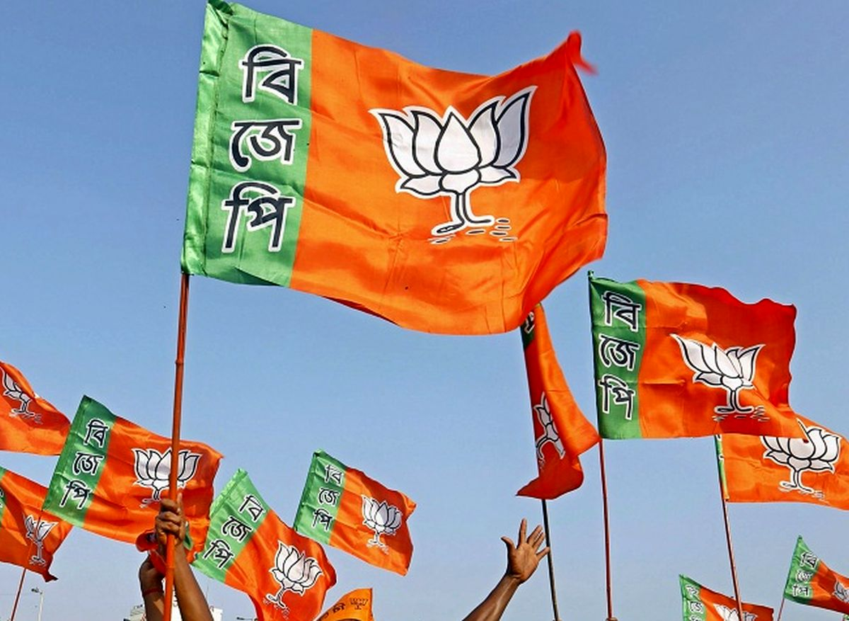 BJP activists clash with cops over Bengal poll tickets