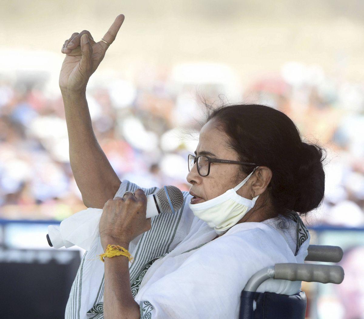 BJP releases 'Mamata's audio clip' seeking help