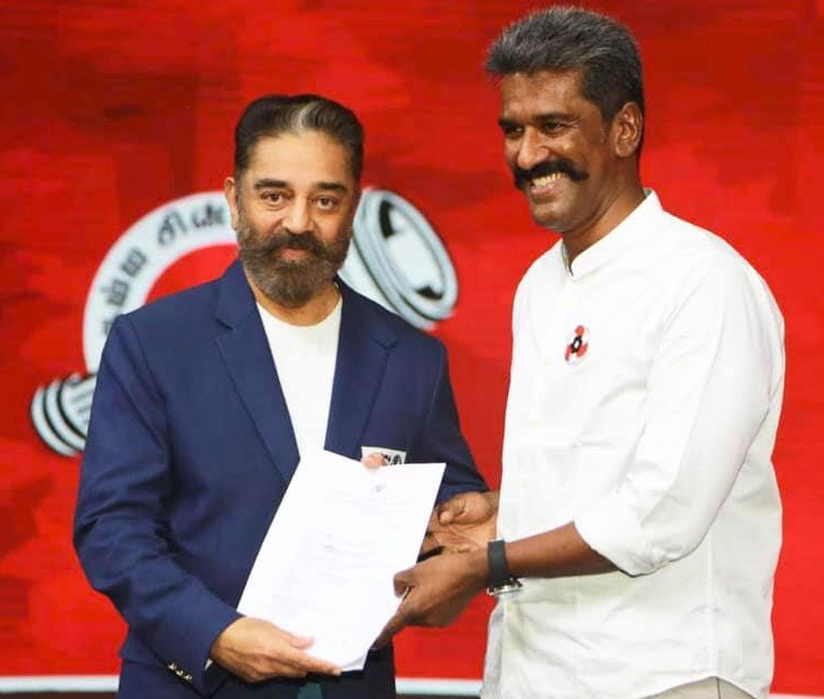 Betrayer, says Kamal Haasan as party VP quits - Rediff.com India News