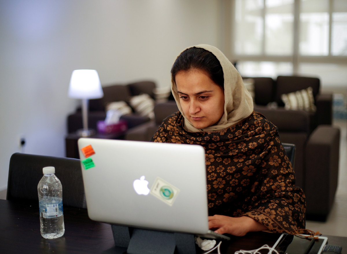 The Woman Who Questioned The Taliban