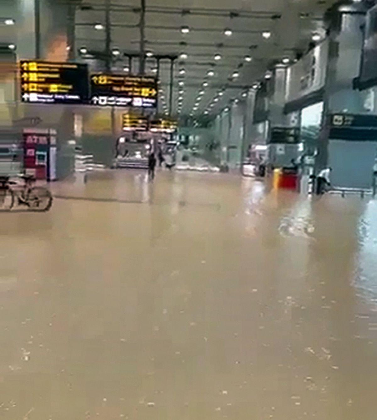 SEE: Rain floods Delhi airport, flights delayed