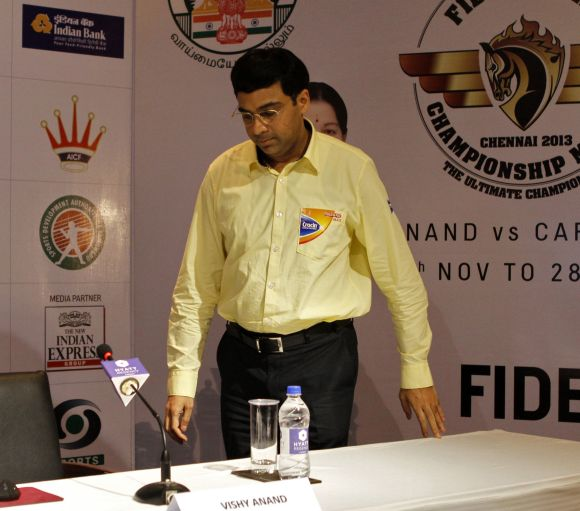 Viswanathan Anand is arguably India's greatest sportsman.