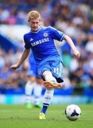 Belgian winger De Bruyne leaves Chelsea for Wolfsburg