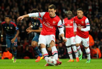 Ozil still affected by penalty miss, says Wenger