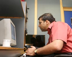 Viswanathan Anand chats to rediff.com readers