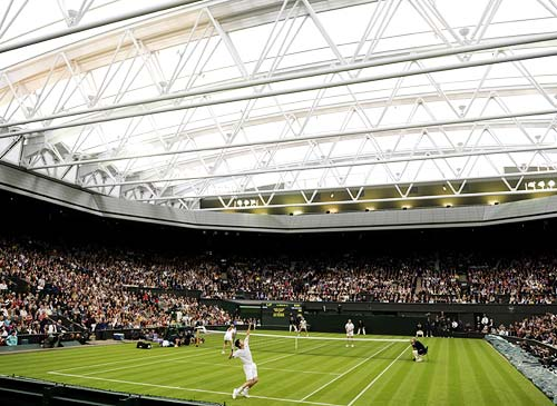 Wimbledon unveils its new multi-million-dollar retractable roof over Centre Court