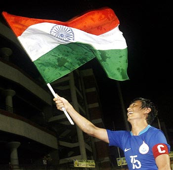 India captain Baichung Bhutia