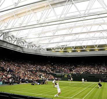 The Wimbledon Centre court