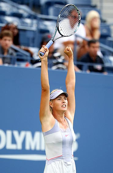 Maria Sharapova relieved after defeating Heather Watson on Monday