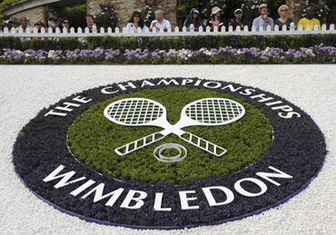Wimbledon fire: Firefighters tackle blaze on practice courts