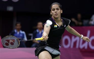 Saina Nehwal tames Tine Baun to enter semi-finals