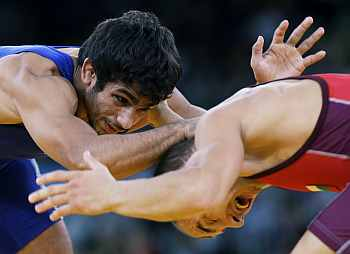 Grapplers Amit, Narsingh shown the exit