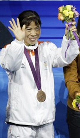 Manipur to award Rs. 50 lakh to Mary Kom