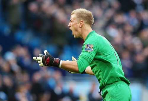 Joe Hart of Manchester City