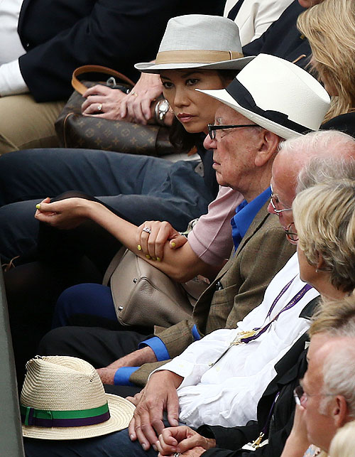 The Rich and Royal witness Wimbledon final