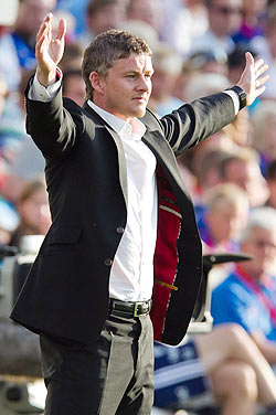 Solskjaer is Manchester United's caretaker manager