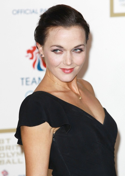 Victoria Pendleton attends the British Olympic Ball
