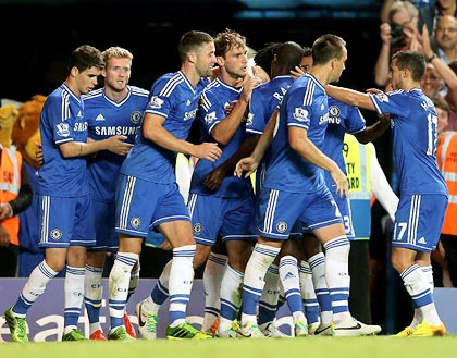 EPL: Fortunate Ivanovic helps Chelsea beat Villa