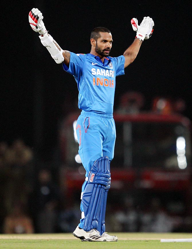 ODI Rankings: Dhawan breaks into top 10