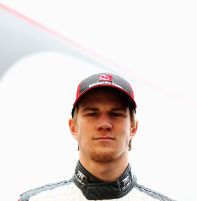 Nico Hulkenberg of Germany and Force India