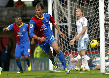 EPL: Chamakh shines in Palace win over West Ham
