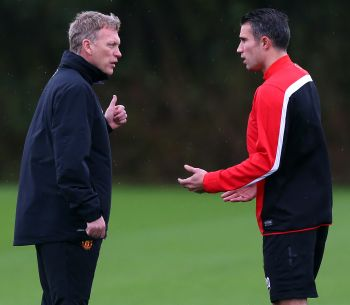 Van Persie to leave Manchester United?