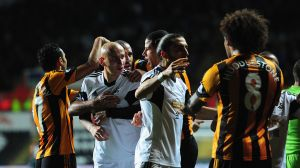 Swansea and Hull fined for mass confrontation
