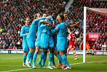 EPL: Spurs rally to beat Southampton 3-2