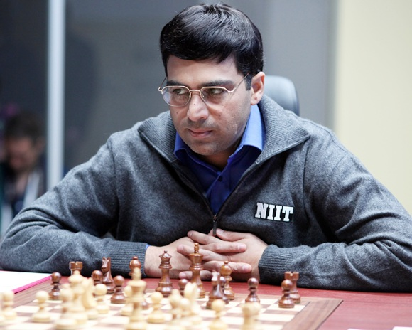 Anand's chances to catch up with Magnus Carlsen at the top have now almost evaporated having lost to Russian Sergey Karjakin in the previous round