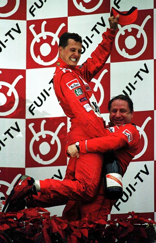 First title for Ferrari