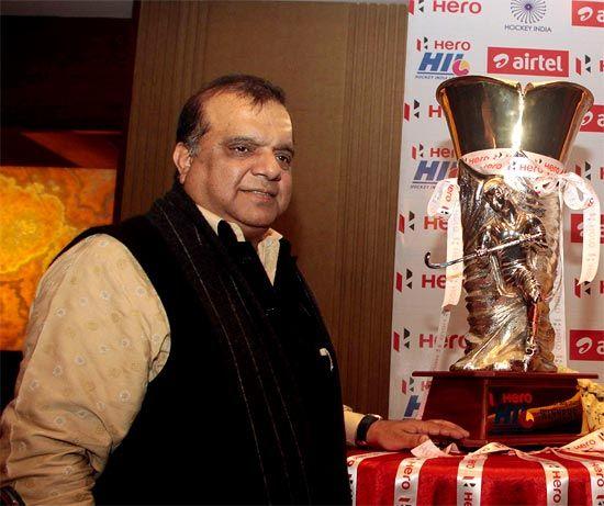 Indian Olympic Association chief Narinder Batra