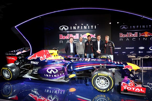 Red Bull Racing's new car RB9 is launched