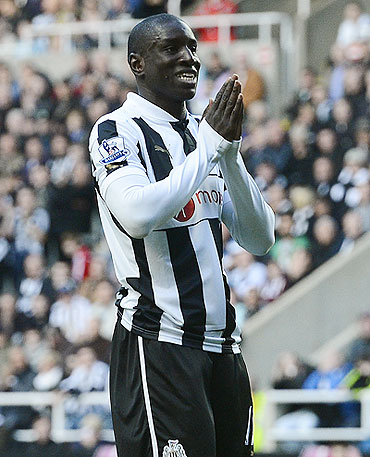 Newcastle United's Demba Ba