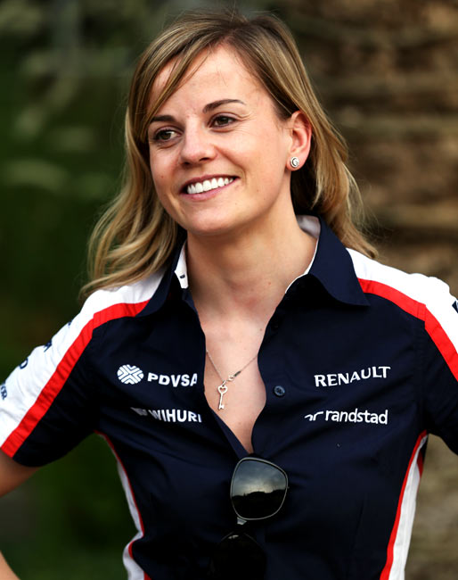 Why Susie Wolff is defending Ecclestone's comments on women drivers